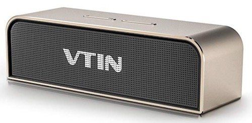 Vorbei! VTIN Bluetooth Lautsprecher mit eingebautem Mikrofon für 13,99€ (statt 40€)   Prime