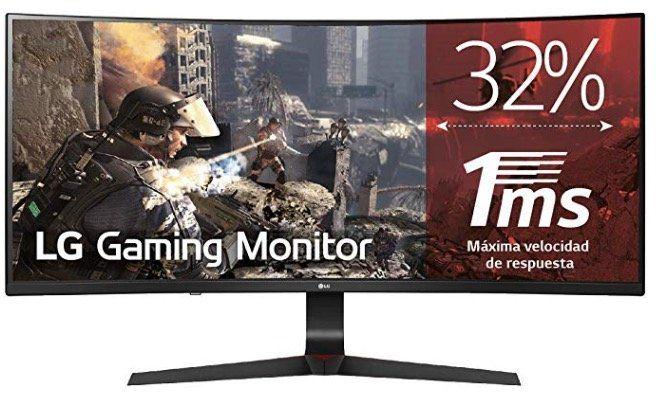 LG 34GL750   34 Zoll Full HD Curved UltraWide Monitor mit 144 Hz für 333,95€ (statt 379€)