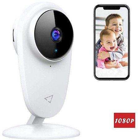 Victure 1080P Kamera mit Nachtsicht und 2 Wege Audio für 17,99€ (statt 30€)   Prime