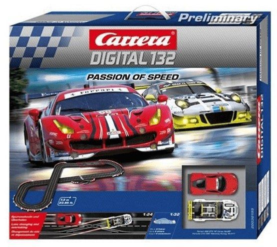 Ausverkauft! Carrera Digital 132: Passion of Speed für 179,99€ (statt 229€)