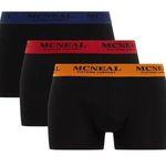 3er Pack MCNEAL Trunks Boxershorts für 11,99€ – M, L, XL