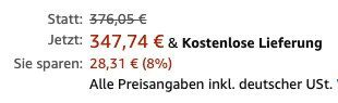 Weber Spirit II S 210 Gasgrill mit GBS für 347,74€ (statt 399€)