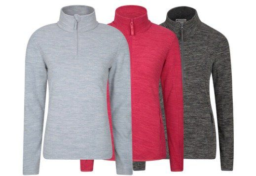 Mountain Warehouse Snowdon Mikrofleece Damen Pullover für je 17,59€ (statt 21€)