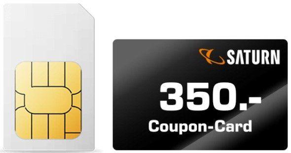 Junge Leute: o2 Allnet Flat mit 60GB LTE für 29,99€ mtl. + 350€ Saturn Gutschein