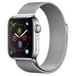 Vorbei! Apple Watch Series 4 LTE 40mm in Silber mit Edelstahlgehäuse und Milanaise Armband für 449€ (statt 646€)