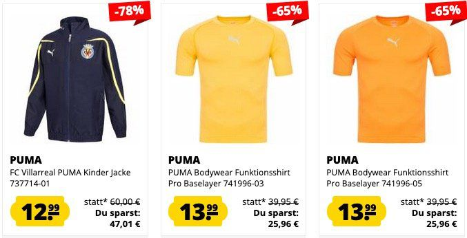 SportSpar Puma Sale heute versandkostenfrei   z.B. PUMA SF Scuderia Ferrari Thunder für 59,99€