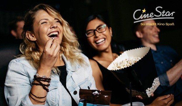 CineStar Kinoticket inkl. Überlänge + Popcorn für 9,90€