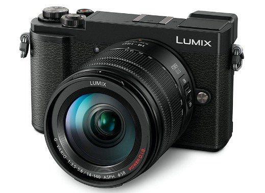 Panasonic Lumix DC GX9 im Kit mit 14 140mm Objektiv in Schwarz für 616,60€ (statt 895€)
