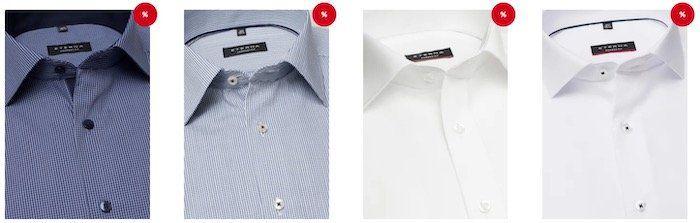 BlackWeek: Eterna Hemden mit bis zu 50% Rabatt   schon ab 29,95€ (statt 60€)