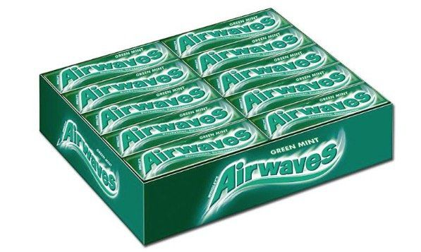 90x 10er Wrigleys Airwaves Green Mint für 15,85€ (statt 69€)