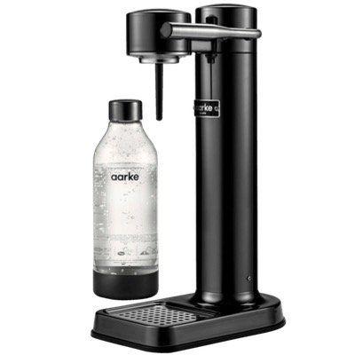 Aarke Carbonator II Design Wassersprudler + 1 Flasche für 124,90€ (statt 140€)