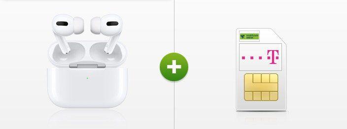 Telekom 15GB LTE Datentarif für 17,99€ mtl. + Prämien z.B. Airpods Pro oder Sonos ONE SL