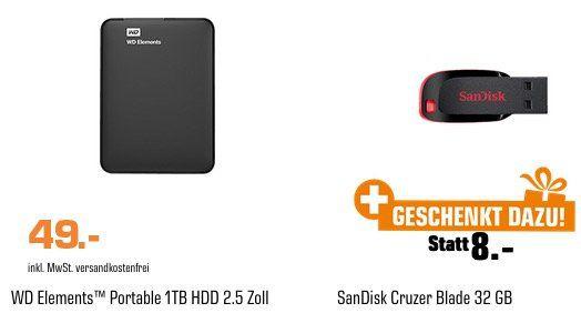 Saturn SpeicherWoche letzter Tag: z.B. SANDISK Ultra Flair 64 GB USB 3.0 Stick für 9€ (statt 13€)