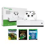 Microsoft Xbox One S 1TB All Digital Edition Minecraft + Sea of Thieves + Fortnite für 129,99€ (statt 214€)