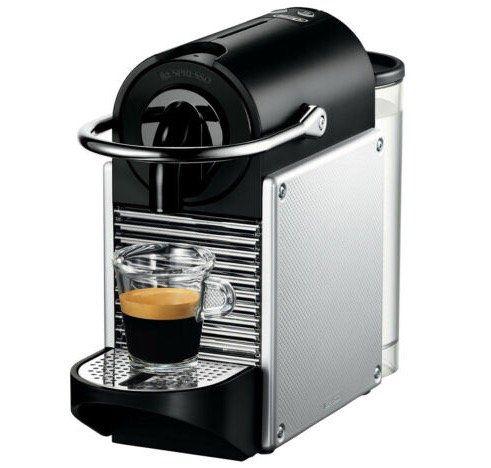DeLonghi Nespresso Pixie Kapselmaschine EN124S für 74,99€ (statt 85€) + 100€ Kapseln gratis
