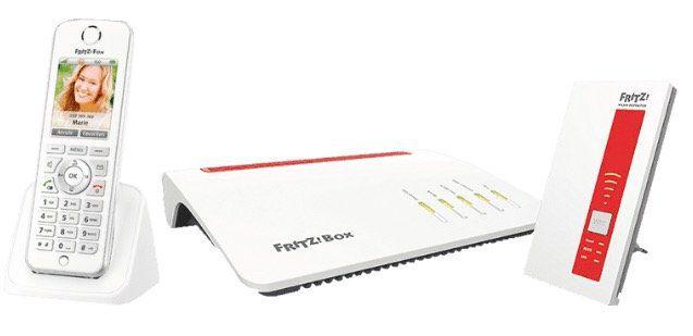 AVM FRITZ!Box 7590 + 1750 Repeater + AVM FRITZ!Fon C4 für 269,99€ (statt 320€)