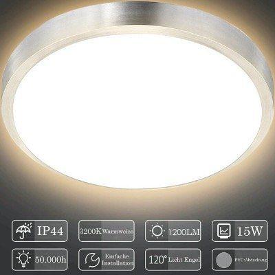 30% Rabatt auf HENGDA LED Deckenleuchten   z.B. 15W für 13,99€ (statt 20€)