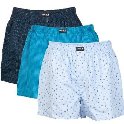 3er Set Daily Underwear Boxershorts für 15,45€ (statt 21€)   bis 5XL!