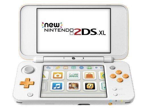 New Nintendo 2DS XL in Weiss Orange für 90,99€ (statt 109€)