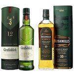Whisky-Deals bei Amazon – z.B. Glenfiddich 12 Jahre für 22,99€ oder Bushmills 10 Jahre für 23,99€