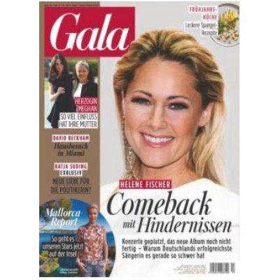 Gala Jahresabo mit 52 Ausgaben für 192,40€ + Prämie: 135€ z.B. Amazon Gutschein