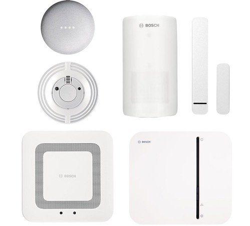 Bosch Smart Home Sicherheit Starter Set mit App Funktion + Google Nest Mini + Twinguard für 249,95€ (statt 364€)