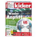 104 Ausgaben vom Kicker für 230,40€ inkl. 180€ Scheck