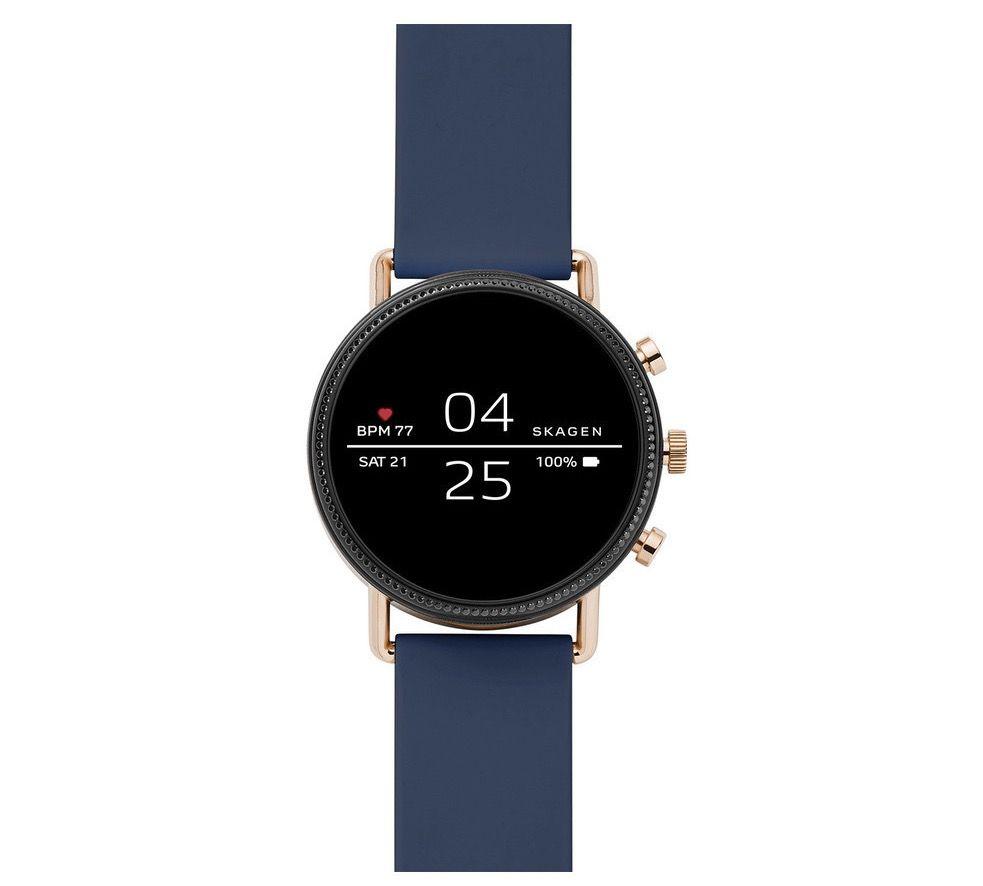 Skagen SKT5110 Connected Damen Smartwatch mit Silikon Armband für 79€ (statt 159€)