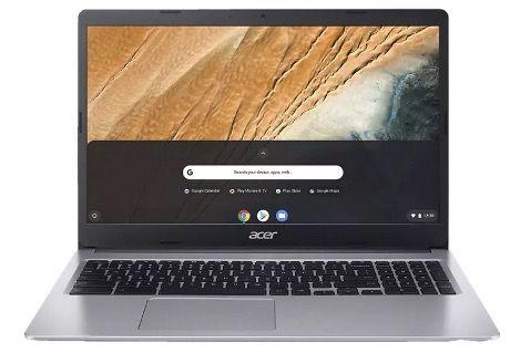 ACER Chromebook 15 (CB315 3HT C47Q) Chromebook mit 15,6, Celeron, 4GB RAM, 64GB eMMC für 319€ (statt 379€)