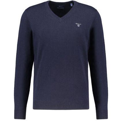 Gant Herren Wollpullover mit V Neck für 35,71€ (statt 58€) oder 2 Pullover für 64,62€
