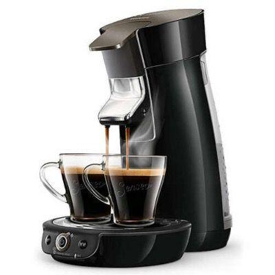 Philips Senseo Viva Café HD6564 Kaffeepadmaschine in Schwarz für 53,99€ (statt 80€)