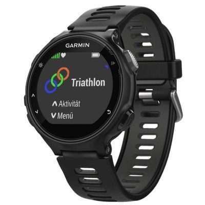 GPS Multisport Uhr GARMIN Forerunner 735XT im Run Bundle in Schwarz Grau für 197€ (statt 250€)