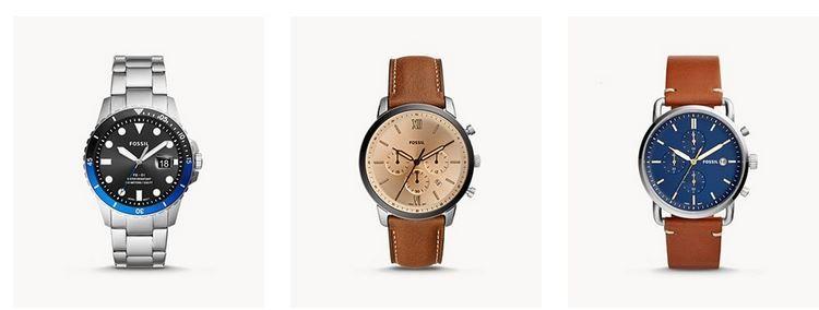 Fossil Neujahrs Sale bis zu 50% Rabatt auf ausgewählte Uhren, Schmuck & Co.