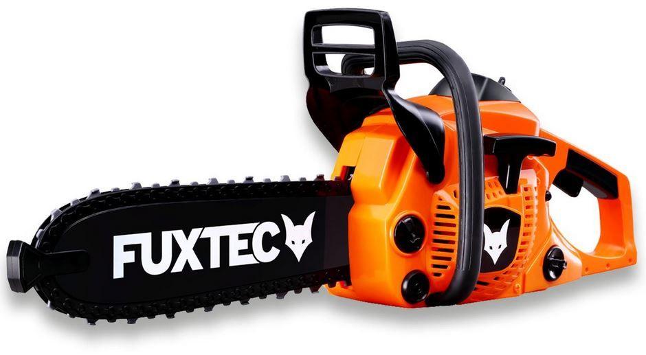 FUXTEC Spielzeug Kettensäge   mit Sound und beweglicher Kette für 14,95€ (statt 19€)