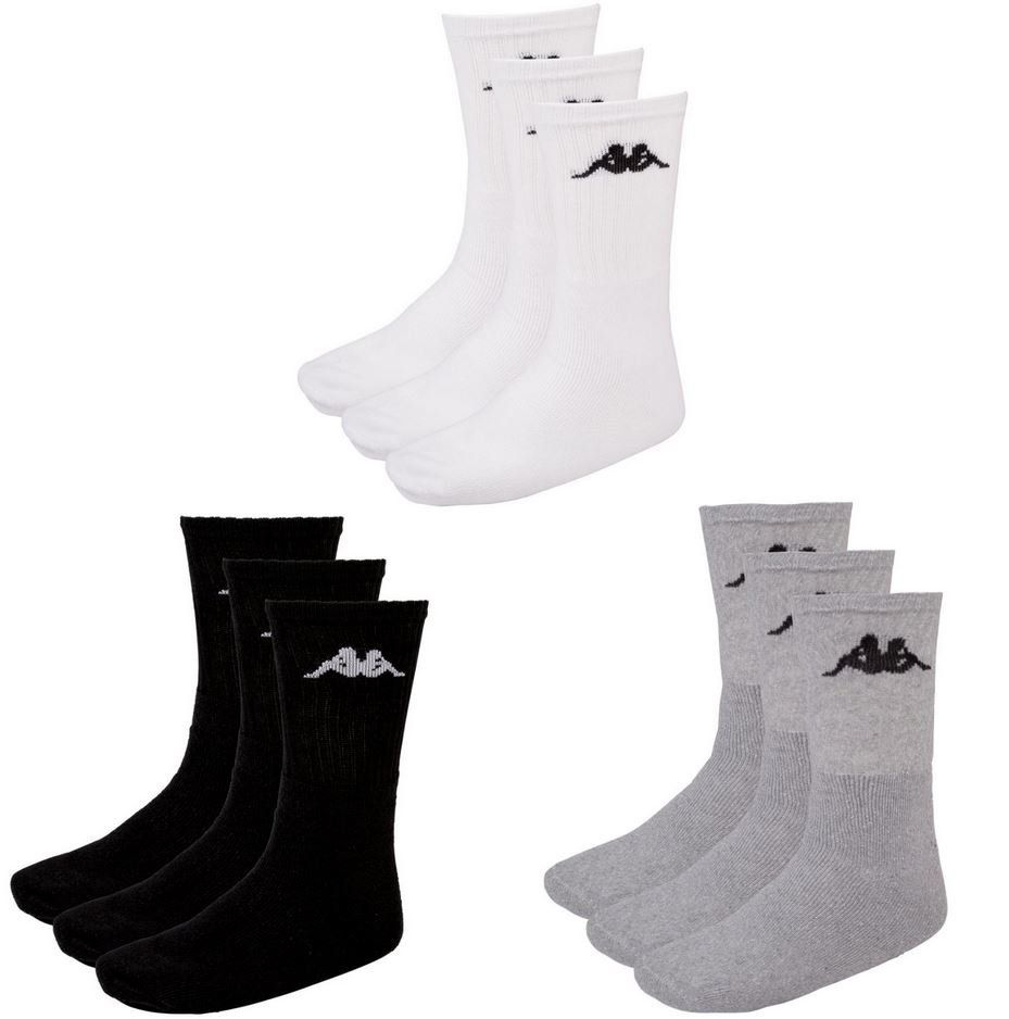 Kappa Socken 12er Pack für Damen und Herren für 17,95€ (statt 21€)