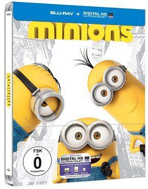Minions (Steelbook Edition) als Blu ray für 5€ (statt 9€)