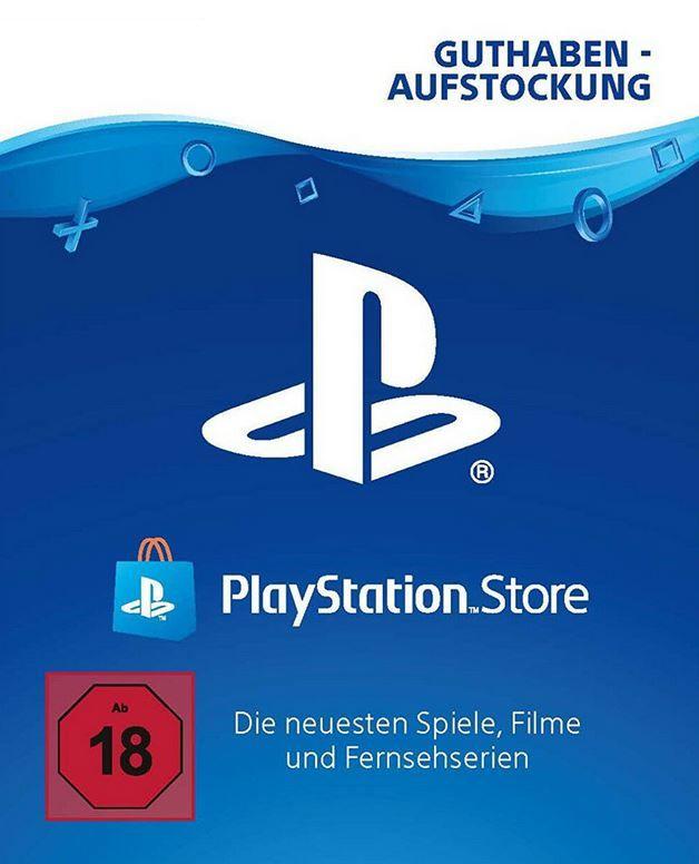 PSN PlayStation Network Guthaben von 20€ bis 40€ ab 16,52€