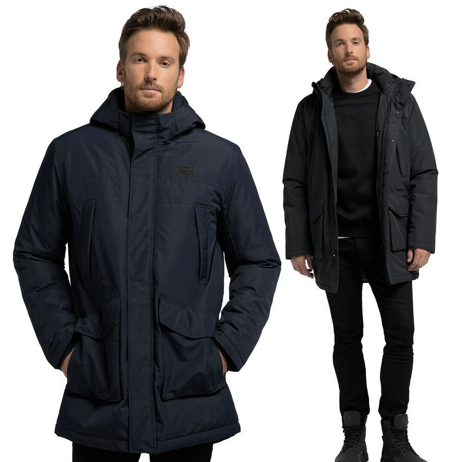 PYUA URBAN Herren Wintermantel mit Kapuze für 69,90€ (statt 99€)