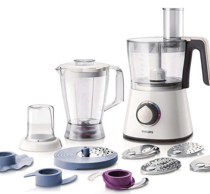 PHILIPS Viva Collection HR7761 Küchenmaschine 750 Watt für 59,99€ (statt 85€)