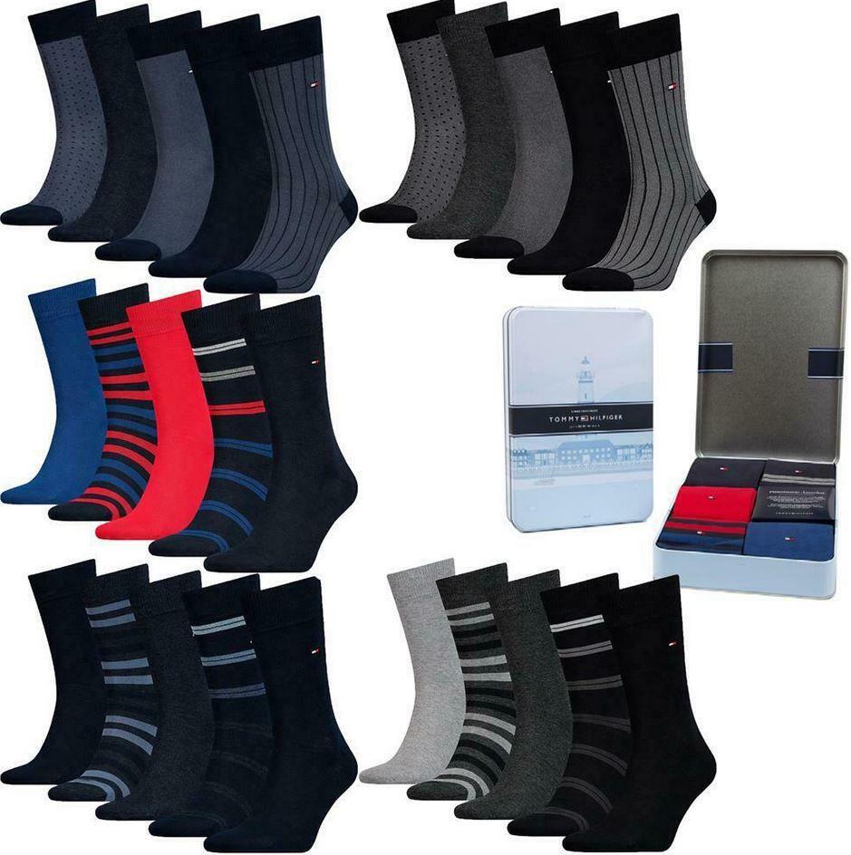 Tommy Hilfiger Herren Socken 10er Paar inkl. Geschenkbox für 39,95€ (statt 48€)