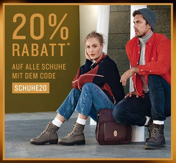 Tom Tailor Heute 20% Rabatt auf alle Schuhe   z.B. TOM TAILOR DENIM Karo Schaft für 55,96€ (statt 63€)