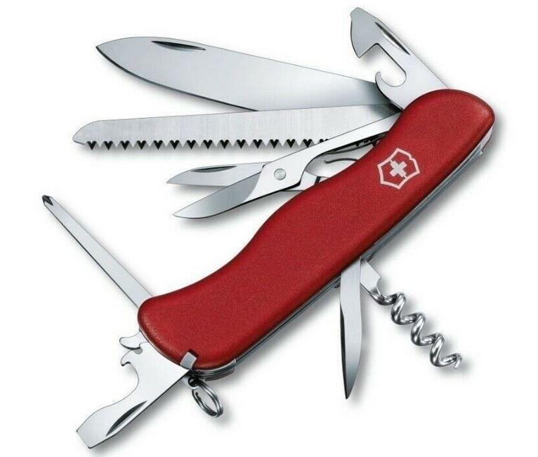 Victorinox Bosch   Outrider Schweizer Taschenmesser für 29,99€ (statt 35€)