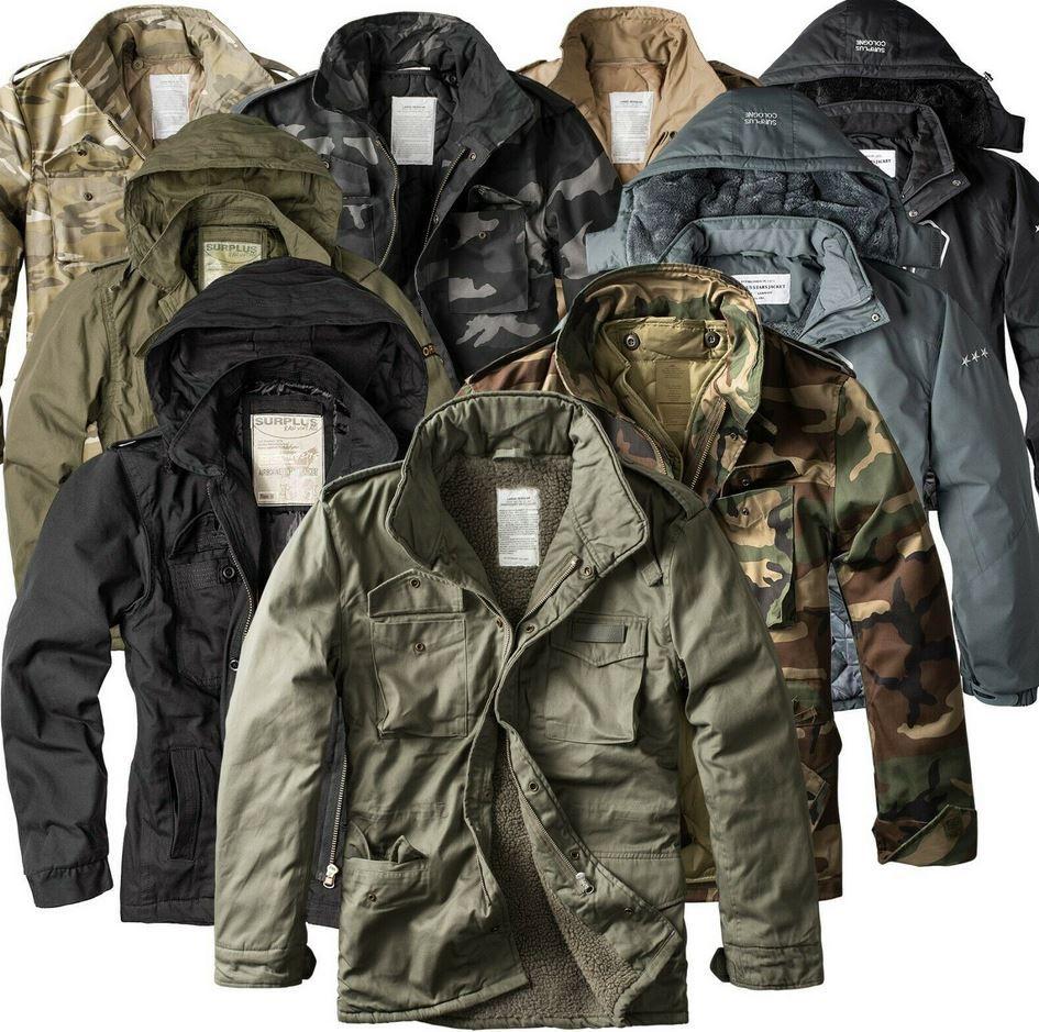 SURPLUS RAW Vintage Giant Herren Winter Jacken bis 5XL für je 39,90€ (statt 50€)