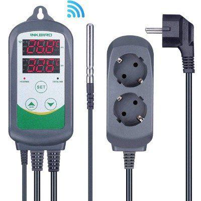 Inkbird ITC 308 WLAN Thermostat mit Steckdose und Fernsteuerung per App für 39,19€ (statt 56€)