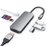dodocool USB-C Hub 7in1 mit HDMI, SD/Micro SD, USB-C Laden und 3x USB 3.0 für 22,79€ (statt 30€)