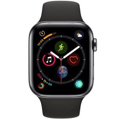 Apple Watch Series 4 LTE 44mm Edelstahlgehäuse mit Sportarmband für 499€(statt 531€)