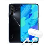 Huawei Nova 5T 128GB + FreeBuds Lite für 1€ + Blau.de o2 Allnet-Flat mit 5GB LTE für 15,99€ mtl.