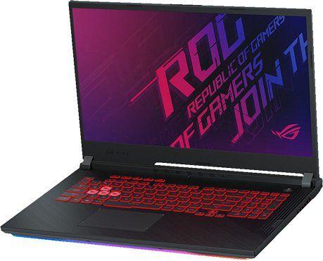 ASUS ROG Strix Notebook mit 17.3, i7, 16GB RAM, 512GB SSD und GTX1660Ti für 1.449€ (statt 1.604€)