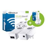 Powerline Adapter DEVOLO dLAN 550+ WiFi Starter Kit + Extra Adapter für 89,99€ (statt 156€)