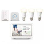 Philips Hue White E27 Bluetooth Starter Kit + Google Nest Hub für 124€ (statt 171€) – viele weitere Deals!